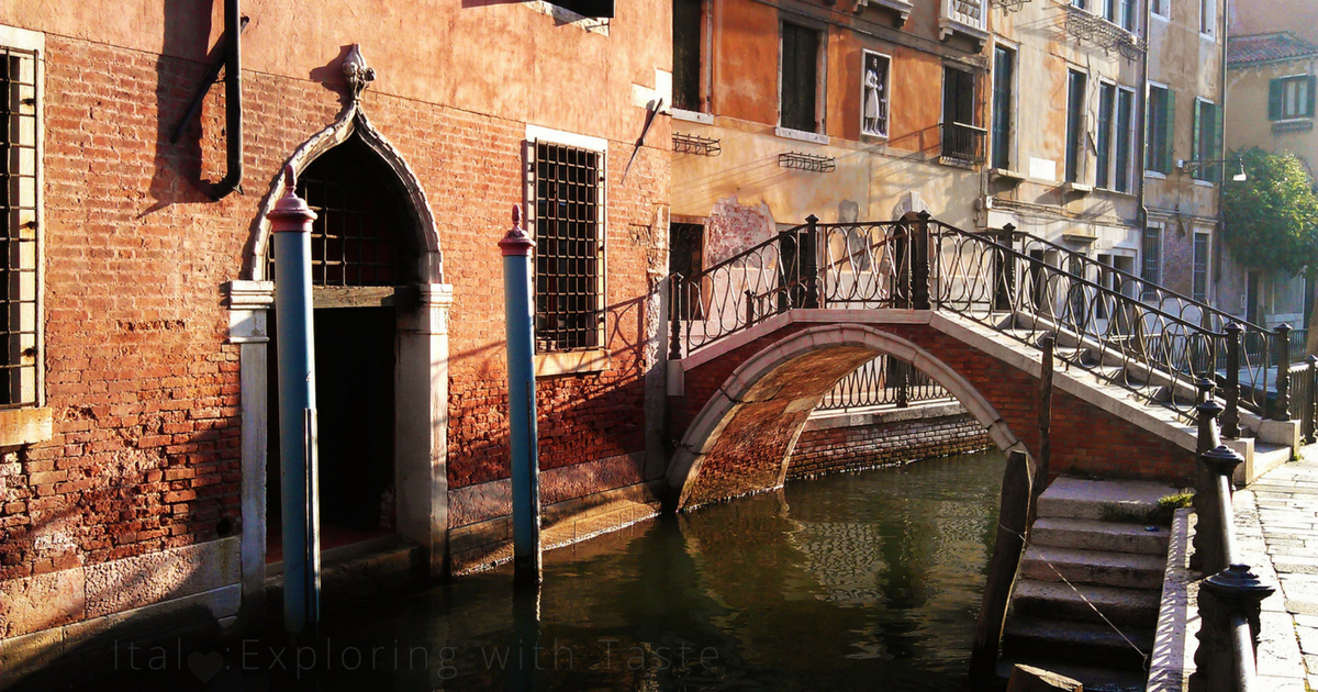 Venice… a great place to get lost in